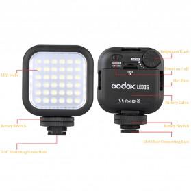 Godox Flash Kamera DSLR 36 LED Universal - LED 36 - Black - 4