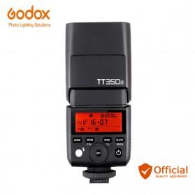 Godox TT350S Mini Speedlite Flash TTL HSS 2.4G Wireless for Sony - Black