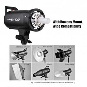 Godox SK400II Professional Compact Studio Flash Strobe Light 400Ws 2.4G Wireless - Black - 5