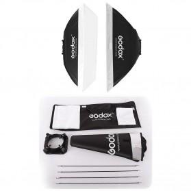Godox Studio Softbox Flash Diffuser Camera DSLR 50 X 70 CM - SB-MS - Black - 9
