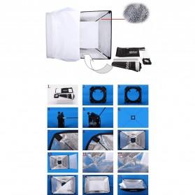 Godox Studio Softbox Flash Diffuser Camera DSLR 50 X 70 CM - SB-MS - Black - 10