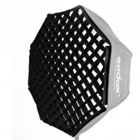 Godox Octagonal Honeycomb Grid 120cm for Umbrella Softbox Reflector - Black - 1