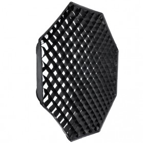 Godox Octagonal Honeycomb Grid 120cm for Umbrella Softbox Reflector - Black - 2