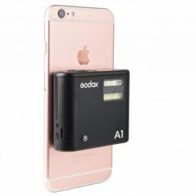 Godox Smartphone Flash Controller 2.4GHz Wireless System Bluetooth Trigger - A1 - Black - 2
