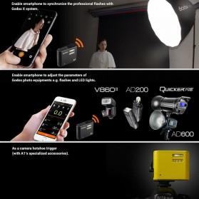Godox Smartphone Flash Controller 2.4GHz Wireless System Bluetooth Trigger - A1 - Black - 7