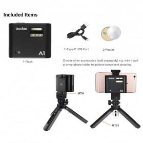 Godox Smartphone Flash Controller 2.4GHz Wireless System Bluetooth Trigger - A1 - Black - 8