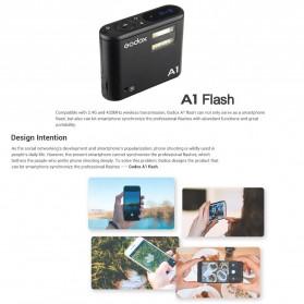 Godox Smartphone Flash Controller 2.4GHz Wireless System Bluetooth Trigger - A1 - Black - 9