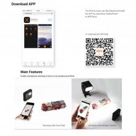Godox Smartphone Flash Controller 2.4GHz Wireless System Bluetooth Trigger - A1 - Black - 10
