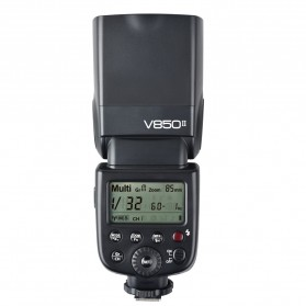 Godox V850II GN60 Camera Flash Speedlite 2.4G Wireless - Black