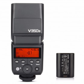 Godox V350S TTL Camera Flash Speedlite 2.4G Wireless for Sony Camera - Black