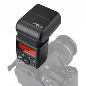 Godox V350S TTL Camera Flash Speedlite 2.4G Wireless for Sony Camera - Black - 8