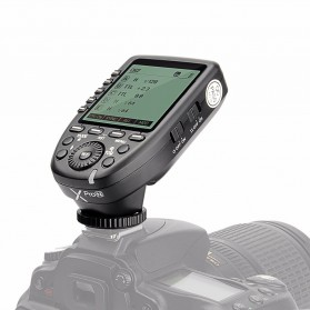 Godox Xpro-C Wireless Flash Trigger Transmitter TTL HSS for Canon - Black - 1