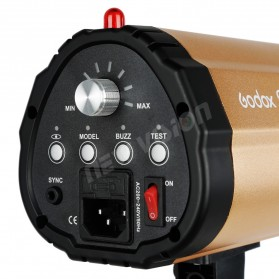 Godox 250SDI Smart Strobe Photo Flash Studio Light 250Ws 220V - Black/Orange - 3