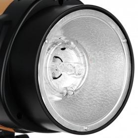 Godox 250SDI Smart Strobe Photo Flash Studio Light 250Ws 220V - Black/Orange - 4