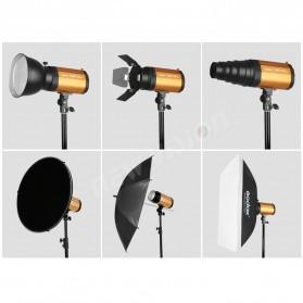 Godox 250SDI Smart Strobe Photo Flash Studio Light 250Ws 220V - Black/Orange - 5