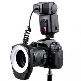 Godox ML-150 Macro Ring Flash Light Speedlite Kamera DSLR Canon Nikon Sony - Black