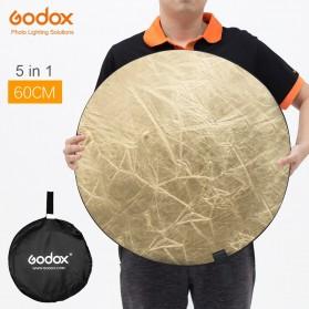 Godox Reflektor Cahaya Studio Foto 5 in 1 60cm - RFT-05 - Black
