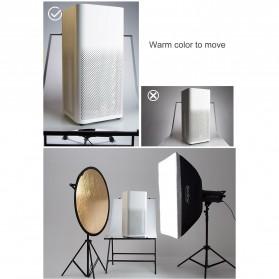 Godox Reflektor Cahaya Studio Foto 5 in 1 60cm - RFT-05 - Black - 12