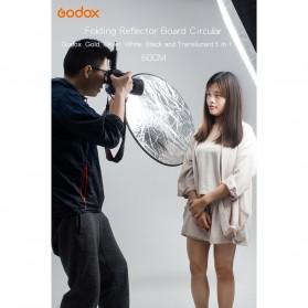 Godox Reflektor Cahaya Studio Foto 5 in 1 60cm - RFT-05 - Black - 4