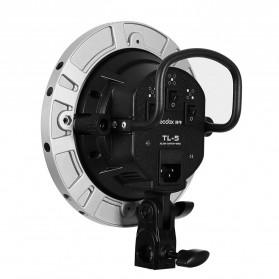 Godox Socket Bohlam Lampu Kamera Foto Studio 5 in 1 - TL-5 - Black - 4
