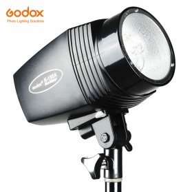 Godox Mini Master Lampu Flash Kamera Studio Strobe Light Lamp 180W - K-180A - Black