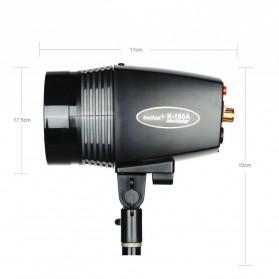 Godox Mini Master Lampu Flash Kamera Studio Strobe Light Lamp 180W - K-180A - Black - 2