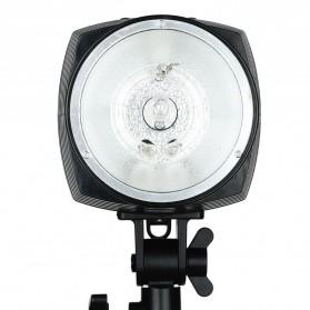 Godox Mini Master Lampu Flash Kamera Studio Strobe Light Lamp 180W - K-180A - Black - 3