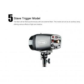 Godox Mini Master Lampu Flash Kamera Studio Strobe Light Lamp 180W - K-180A - Black - 11