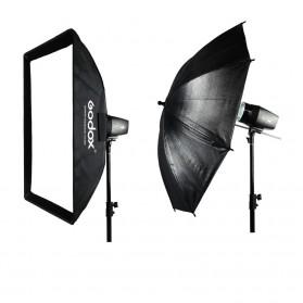 Godox Mini Master Lampu Flash Kamera Studio Strobe Light Lamp 180W - K-180A - Black - 13