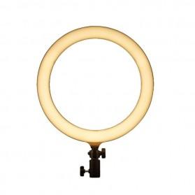Godox Lampu Halo Ring Light LED Kamera 23.9cm with 1xSmartphone Holder - LR120 - Black - 2