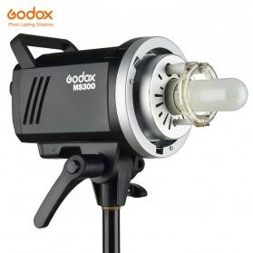 Godox MS300 Compact Studio Flash Light 2.4G Built-in Wireless Receiver 300W - Black