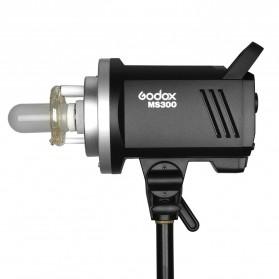 Godox MS300 Compact Studio Flash Light 2.4G Built-in Wireless Receiver 300W - Black - 2