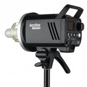 Godox MS300 Compact Studio Flash Light 2.4G Built-in Wireless Receiver 300W - Black - 3
