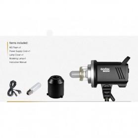 Godox MS300 Compact Studio Flash Light 2.4G Built-in Wireless Receiver 300W - Black - 9