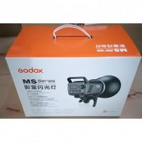 Godox MS300 Compact Studio Flash Light 2.4G Built-in Wireless Receiver 300W - Black - 10