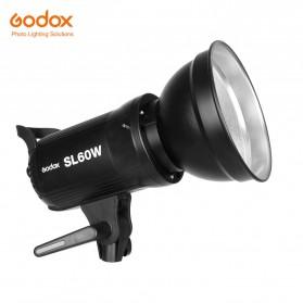 Godox Lampu Kamera Foto Video Continuous Lamp 60W - SL-60W - Black - 1