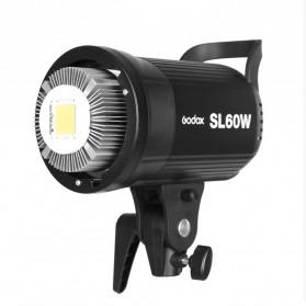 Godox Lampu Kamera Foto Video Continuous Lamp 60W - SL-60W - Black - 2