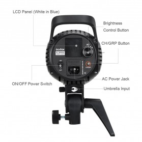Godox Lampu Kamera Foto Video Continuous Lamp 60W - SL-60W - Black - 7