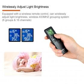 Godox Lampu Kamera Foto Video Continuous Lamp 60W - SL-60W - Black - 12