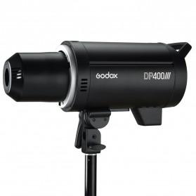 Godox DP400III Studio Flash Light 2.4G Built-in Wireless Receiver 400W - Black - 2