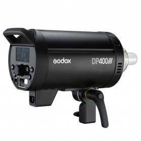 Godox DP400III Studio Flash Light 2.4G Built-in Wireless Receiver 400W - Black - 7
