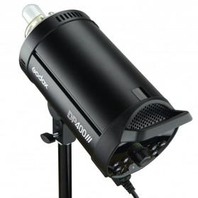 Godox DP400III Studio Flash Light 2.4G Built-in Wireless Receiver 400W - Black - 9