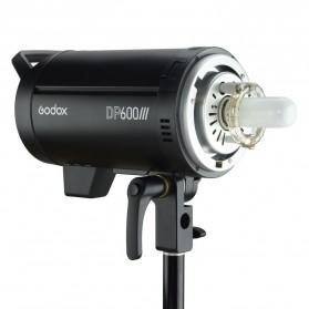 Godox DP600III Studio Flash Light 2.4G Built-in Wireless Receiver 600W - Black - 2