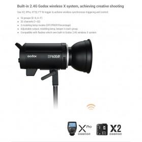Godox DP600III Studio Flash Light 2.4G Built-in Wireless Receiver 600W - Black - 9