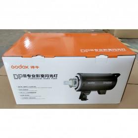 Godox DP600III Studio Flash Light 2.4G Built-in Wireless Receiver 600W - Black - 12