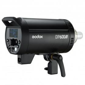 Godox DP600III Studio Flash Light 2.4G Built-in Wireless Receiver 600W - Black - 4