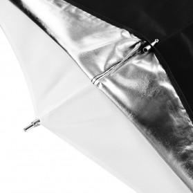 Godox Payung Studio Reflective Photography Umbrella Double Layers 84cm - UB-006 - Black White - 2