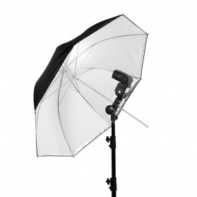 Godox Payung Studio Reflective Photography Umbrella Double Layers 84cm - UB-006 - Black White - 3