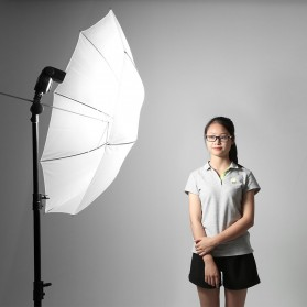 Godox Payung Studio Reflective Photography Umbrella Double Layers 84cm - UB-006 - Black White - 5