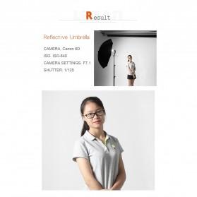 Godox Payung Studio Reflective Photography Umbrella Double Layers 84cm - UB-006 - Black White - 8
